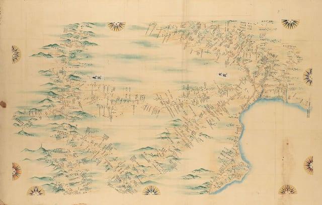 『大日本沿海輿地全図』第90図 武蔵・下総・相模