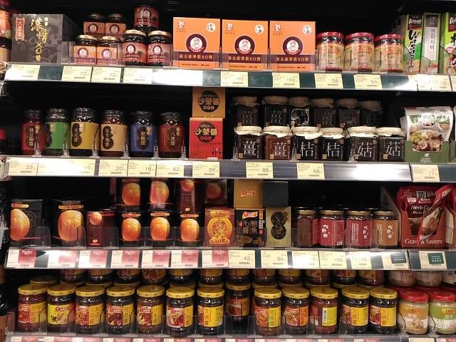 香港のスーパー