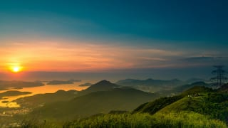 香港・飛鵝山(九龍ピーク)