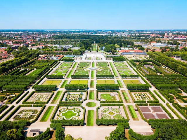 ドイツ・ヘレンハウゼン王宮庭園