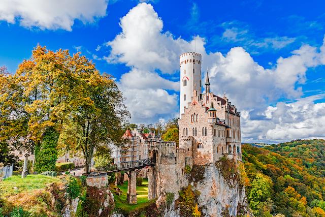 ドイツ・リヒテンシュタイン城1