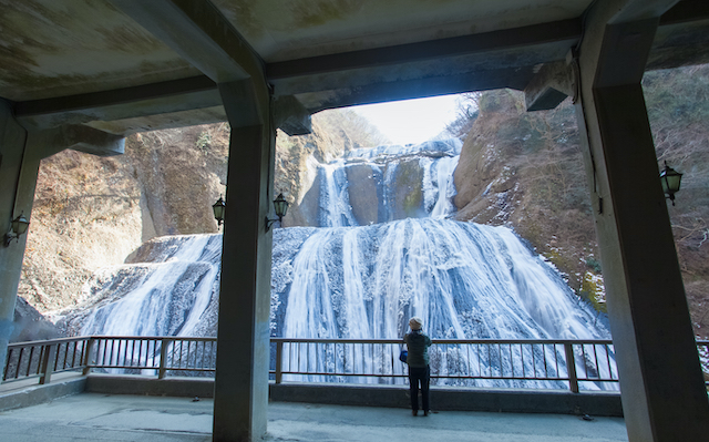 茨城県袋田の滝2