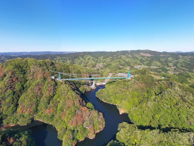 茨城県竜神大吊橋