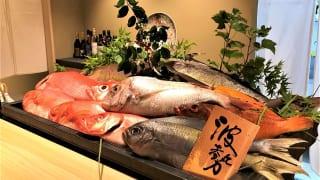 割烹 波勢 魚介類