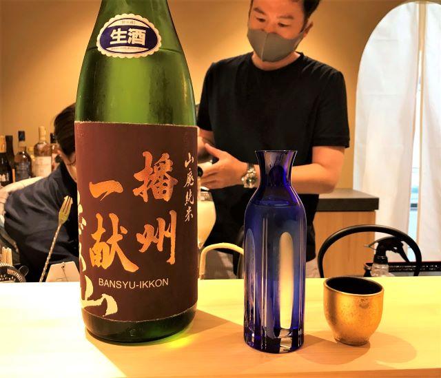 割烹 波勢 日本酒