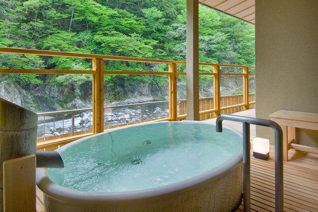 露天風呂付客室「水きよく」