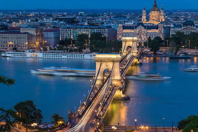 ハンガリー・ブダペスト・ドナウ川