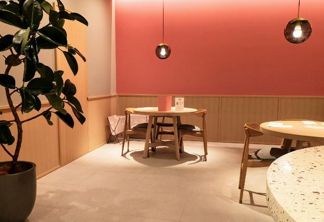 東京都中央区・フルーツコース専門店「Beauty Connection Ginza Fruits Salon(ビューティーコネクション銀座 フルーツサロン)」店内