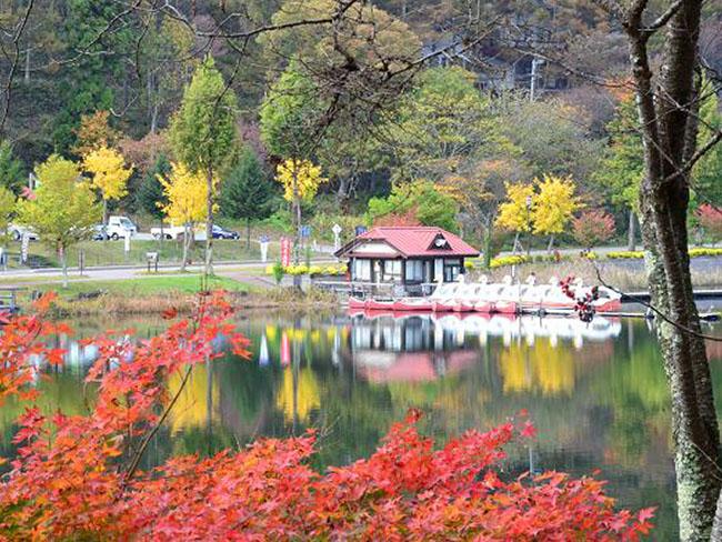 長野県麻績村聖湖