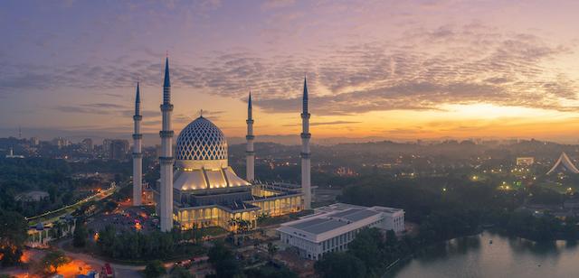 マレーシア・ブルーモスク