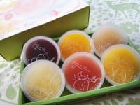 山梨県・「シャトレーゼ」フルーツのジュレ詰合せ(6種類)1