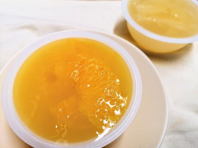 山梨県・「シャトレーゼ」フルーツのジュレ詰合せ(オレンジ・グレープフルーツ)