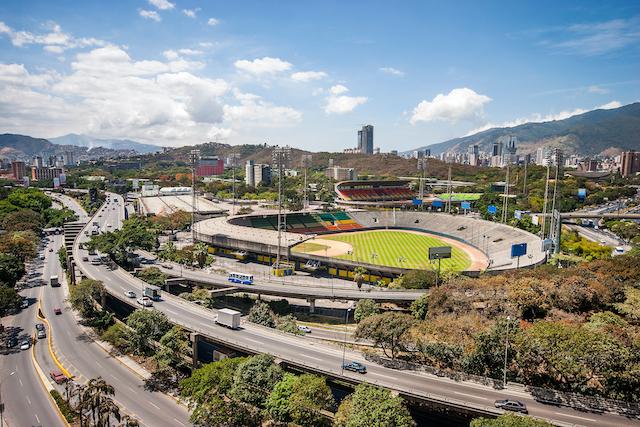 ベネズエラ・カラカスの野球場