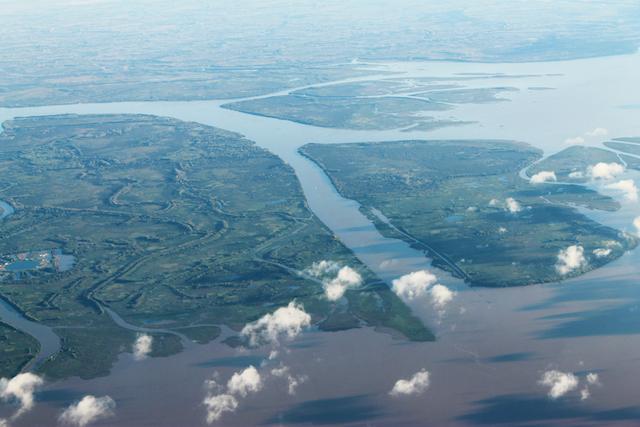 アルゼンチン・ラ・プラタ川