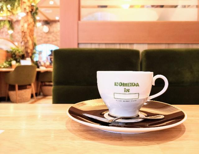 東京都中央区・「KOMEDA is □ 東銀座店」コメダブレンド