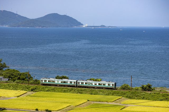 福井県 嶺南地域を東西に走るJR小浜線