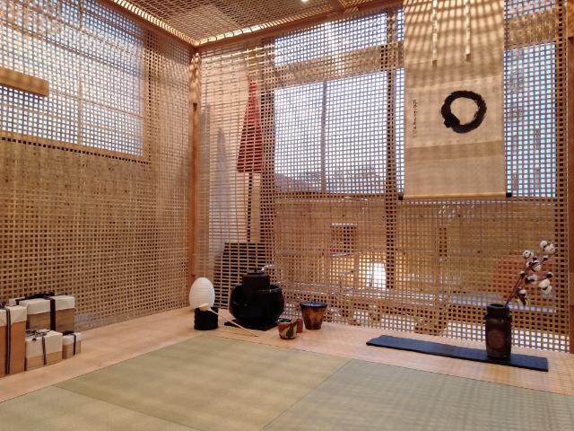 トーセイホテルココネ浅草蔵前茶室ロビー