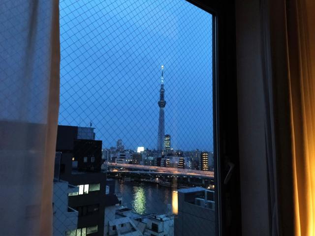 トーセイホテルココネ浅草蔵前眺め