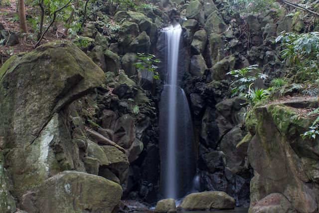 千葉県成田山雄飛の滝