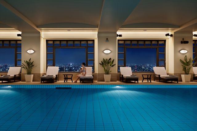 【楽天トラベル】都内で贅沢リゾート気分!東京の屋内プールがある高級ホテル16選