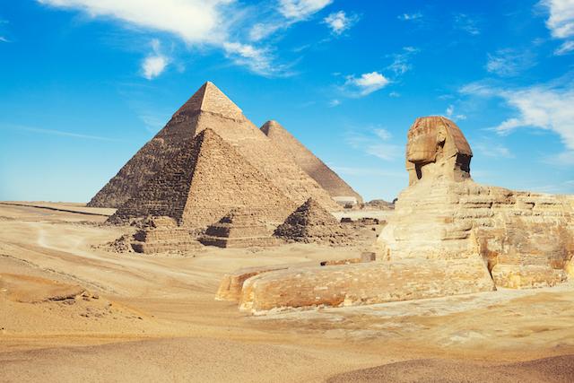 エジプト・カイロ・ピラミッド