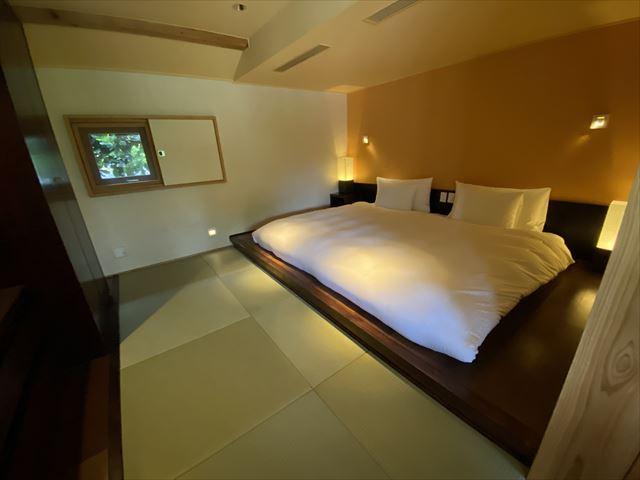 星のや竹富島 寝室