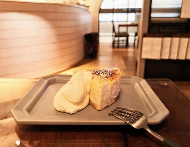 神奈川県厚木市・「CHAVATY TEA AND SALON」スコーンタルト(キャラメルブリュレ)
