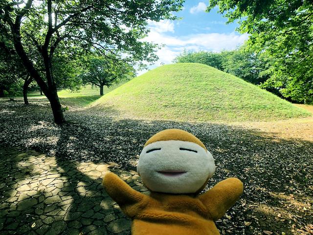 日本列島ゆるゆる古墳ハント28茨城県富士見塚古墳5