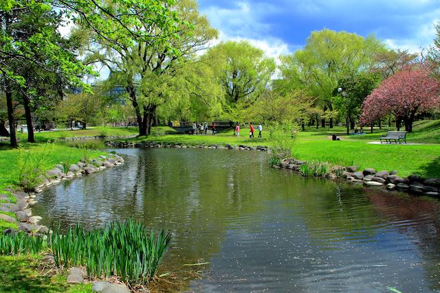 北海道札幌市中島公園
