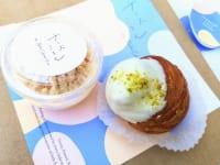 東京都渋谷区・「チーズころん by BAKE CHEESE TART 渋谷 東急フードショー店」ころんとチーズプリン・ころんとクリームチーズクロワッサン