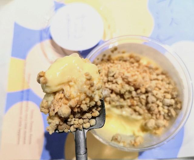 東京都渋谷区・「チーズころん by BAKE CHEESE TART 渋谷 東急フードショー店」ころんとチーズプリン4