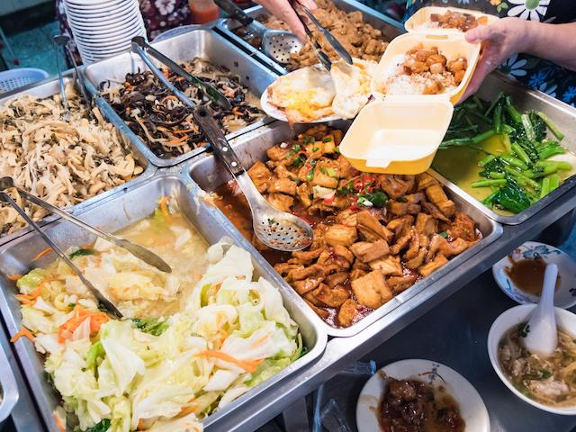 台湾のお弁当店