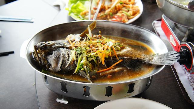 台湾の魚料理