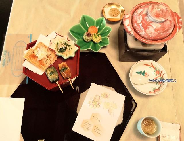 神奈川県川崎市・ダイニング和カフェ「茶寮 春待坂」花やぐ小町御膳