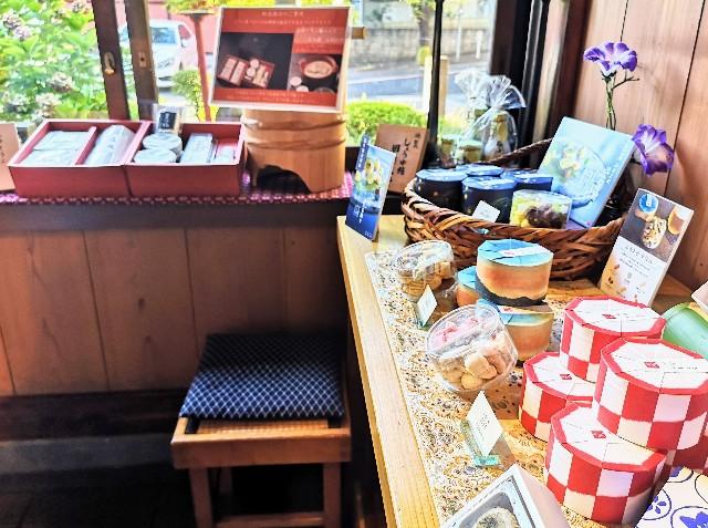 神奈川県川崎市・とうふ料理店「とうふ屋うかい 鷺沼店」のおみやげ処2