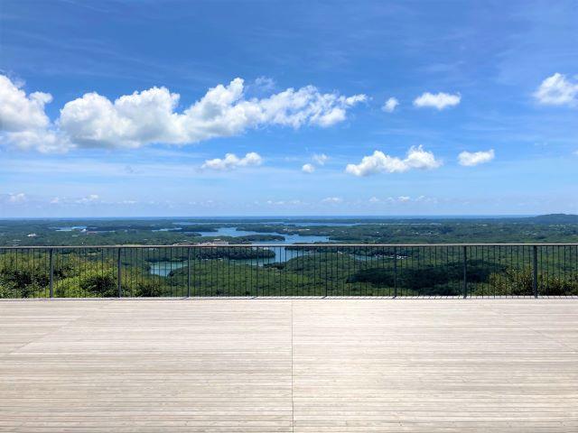 横山展望台 天空カフェテラス