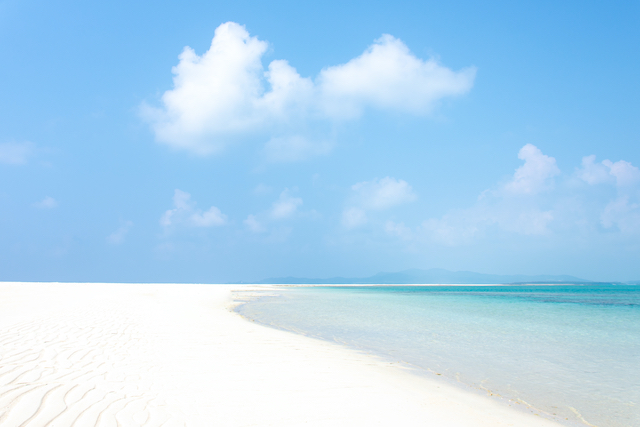 沖縄県久米島のハテノ浜