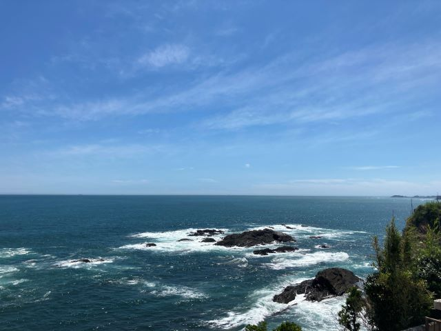 大王埼灯台からの景色