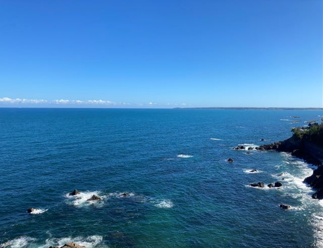 安乗埼灯台からの景色