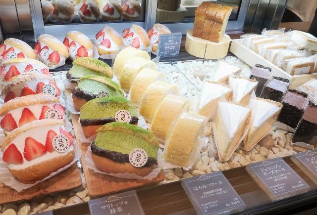 東京都渋谷区・「ジュウニブン ベーカリー 渋谷 東急フードショー店」ケーキ