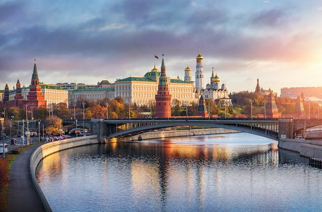 ロシア・モスクワのクレムリン