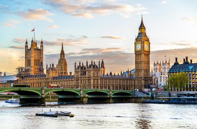 イギリス・ロンドン・ウエストミンスター宮殿