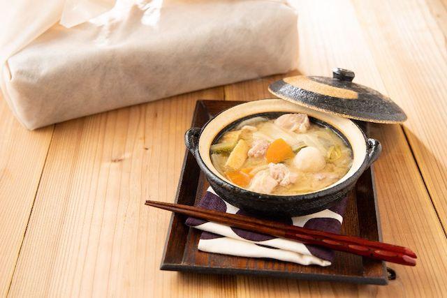 わんまいる長寿味噌のちゃんこ鍋