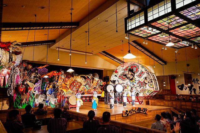 【画像】青森屋 青森四大祭りショー