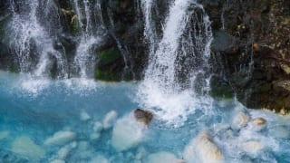 北海道しらひげの滝