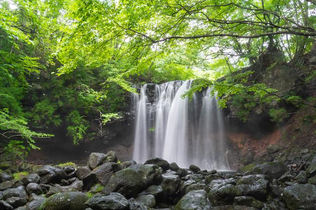 栃木県那須塩原市乙女の滝