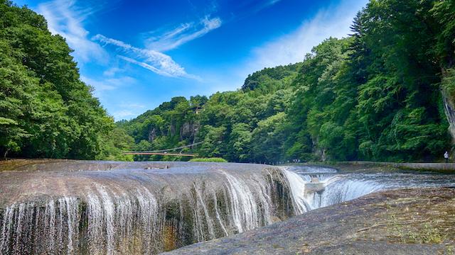 群馬県沼田市吹割の滝