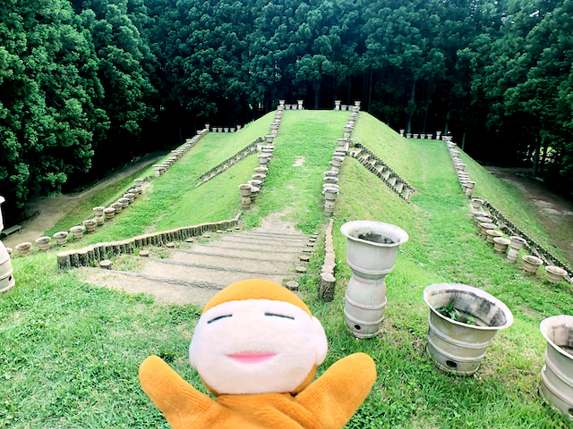 日本列島ゆるゆる古墳ハント30茨城県水戸市牛伏古墳群とくれふしの里古墳公園4