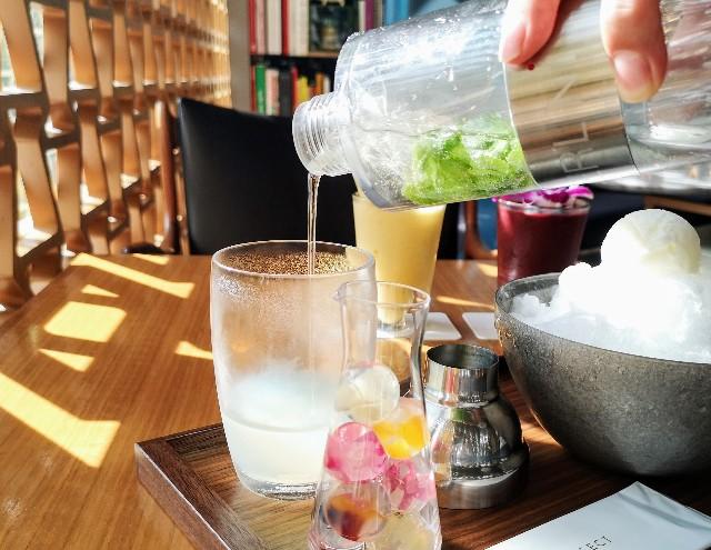 東京都港区・「INTERSECT BY LEXUS - TOKYO」「雫氷-JEWEL DROP-」オリジナル葡萄シロップ