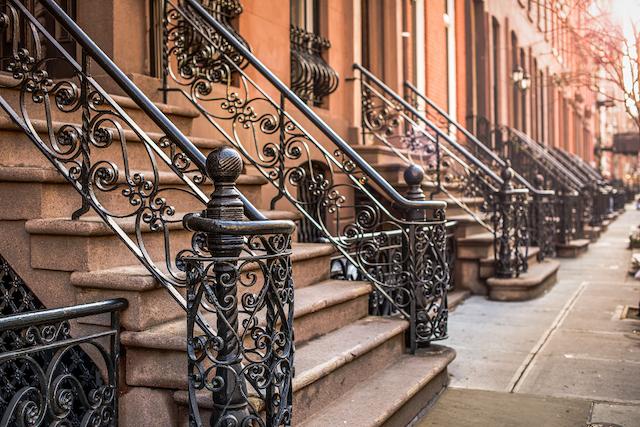ニューヨークのアパートのイメージ